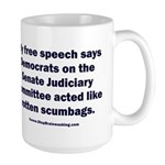 Senate Judiciary Democrat 15 oz Ceramic Large Mug