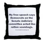 Senate Judiciary Democrats Throw Pillow