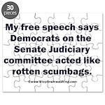 Senate Judiciary Democrats Puzzle