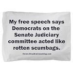 Senate Judiciary Democrats Pillow Sham