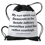 Senate Judiciary Democrats Drawstring Bag