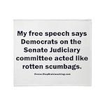 Senate Judiciary Democrats Throw Blanket