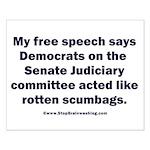 Senate Judiciary Democrats Small Poster