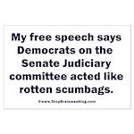 Senate Judiciary Democrats Large Poster