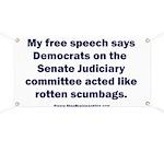 Senate Judiciary Democrats Banner