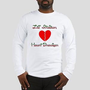 Lil' Italian Heart Breaker Long Sleeve T-Shirt