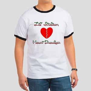 Lil' Italian Heart Breaker Ringer T