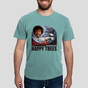 BaseballJersey_HappyTrees_MidnightBlack T-Shirt