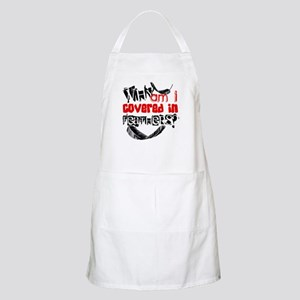 Covered In Feathers BBQ Apron