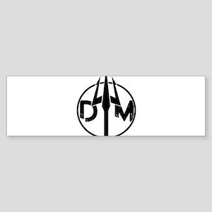 DTM Logo Bumper Sticker