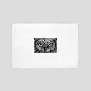 Glaring Owl 4' x 6' Rug