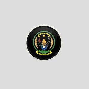 Coat of Arms of Rwanda Mini Button