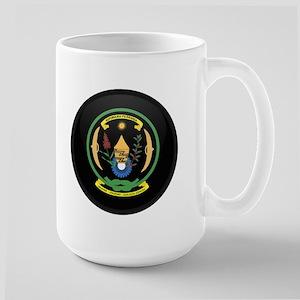 Coat of Arms of Rwanda Large Mug