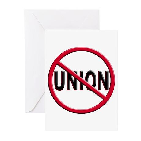Anti-Union Greeting Cards (Pk of 20)