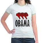 3 Thumbs Down Jr. Ringer T-Shirt