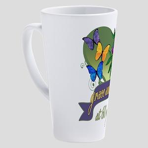 60th Birthday Grace 17 oz Latte Mug