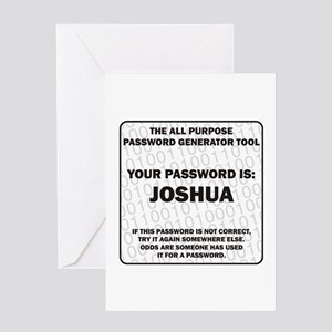 Password Greeting Card