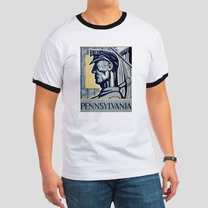 Pennsylvania Vintage Miner Ringer T