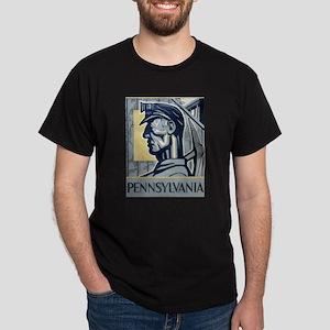 Pennsylvania Vintage Miner Dark T-Shirt