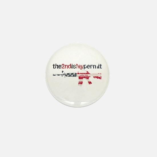 Defending Rights Mini Button