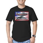 Legalize Freedom Men's Fitted T-Shirt (dark)
