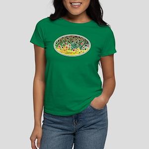 Brown Trout Fly Fishing Women's Dark T-Shirt