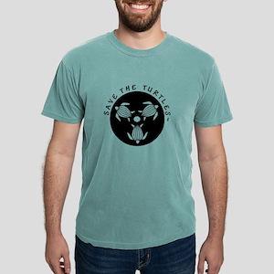 SAVE THE TURTLES BLACK LOGO DESIGN T-Shirt