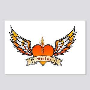 Sinful Heart Postcards (Package of 8)