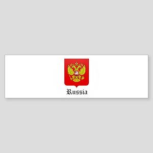 Russian Coat of Arms Seal Bumper Sticker