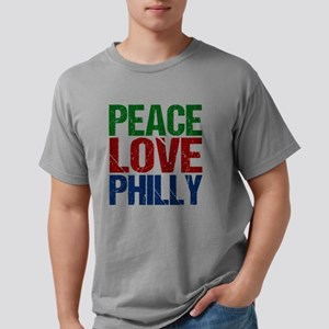 Peace Love Philly Mens Comfort Colors® Shirt