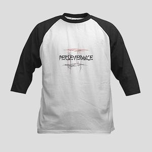 Martial Arts Perseverance Kids Baseball Jersey