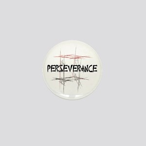 Martial Arts Perseverance Mini Button