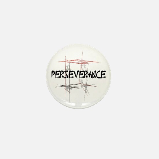 Martial Arts Perseverance Mini Button