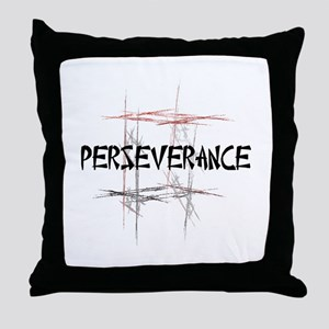 Martial Arts Perseverance Throw Pillow