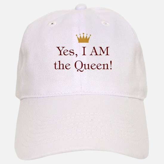 Yes I Am Queen Baseball Baseball Cap
