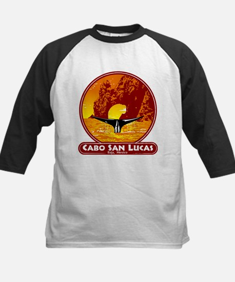 Cabo San Lucas Sunset Kids Baseball Jersey