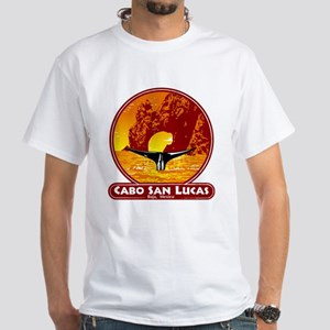 Cabo San Lucas Sunset White T-Shirt