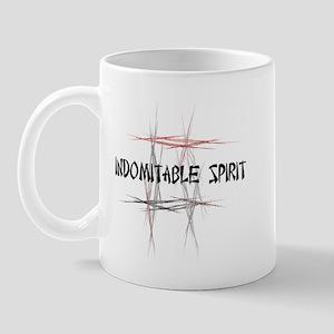 Martial Arts Indomitable Spirit Mug