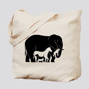 ELEPHANT/ANIMALS Tote Bag