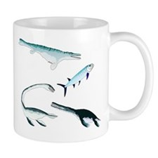 Battle of the Extinct Sea Monsters Mugs
