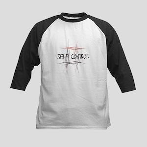 Martial Arts Self Control Kids Baseball Jersey