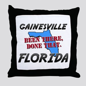gainesville florida - been there, done that Throw