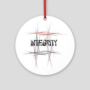 Martial Arts Integrity Ornament (Round)