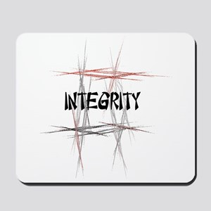 Martial Arts Integrity Mousepad