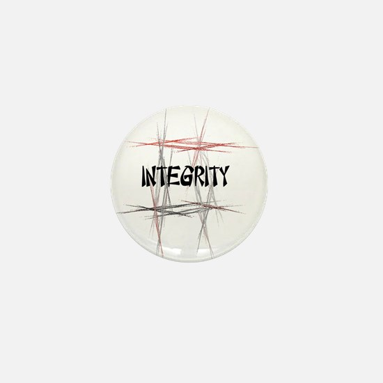 Martial Arts Integrity Mini Button