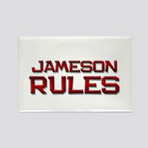 jameson rules Rectangle Magnet