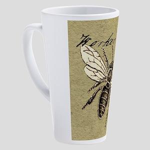 Worker Bee 17 oz Latte Mug