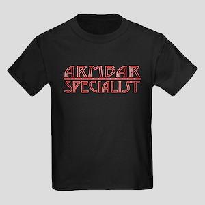 Armbar Specialist - Red Kids Dark T-Shirt