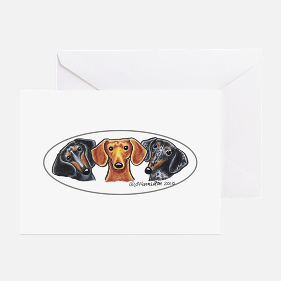 Dachshund Lover Greeting Cards
