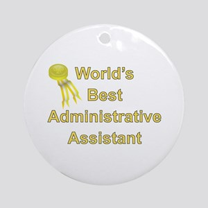 Admin. Professionals Day Ornament (Round)